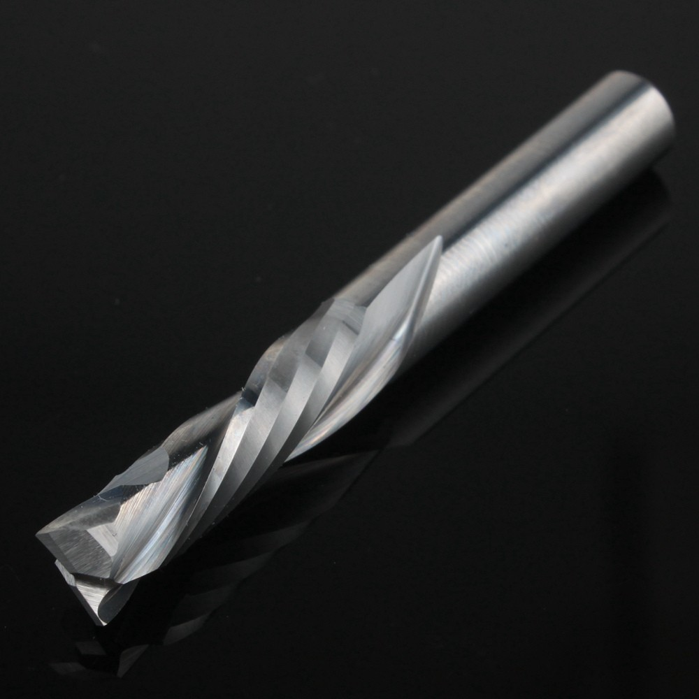 1Pcs 8x35MM AAA Up Down Cut- 2 Spiral Flute Carbide Mill,CNC Milling Cutter,Woodworking Cutting Tools Router Bit