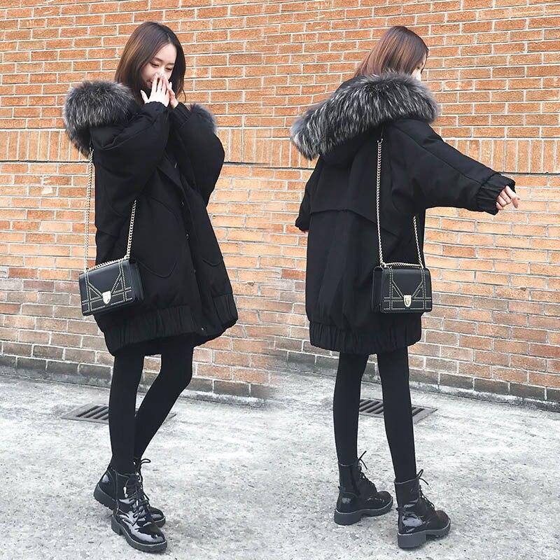 Jacket D'hiver Pour Down En Hiver Vêtements Coton Noir De Manteau Femmes wn0kPO