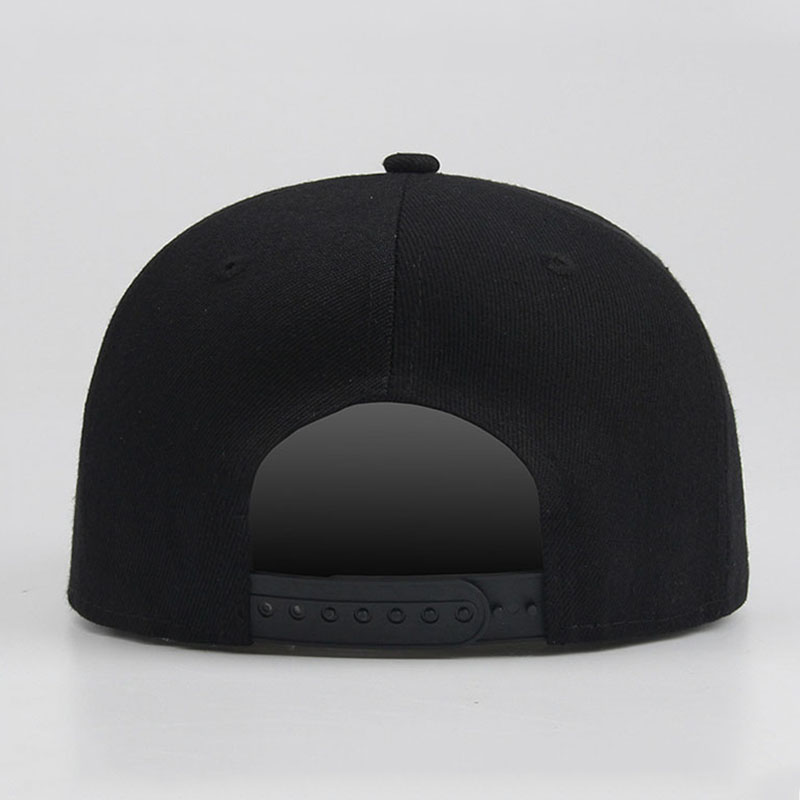 54908e94d9c2f Solid Black Hip Hop Flat Hats Snapback Cool Men Cheap Baseball Caps Women  Casual Cap Gorras Planas Hip Hop Hat 16 Colors-in Baseball Caps from  Apparel ...