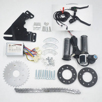24V 36V 350W Electric Bike Bicycle Motor parts conversion Kit for Variable Multiple Speed Bicycle