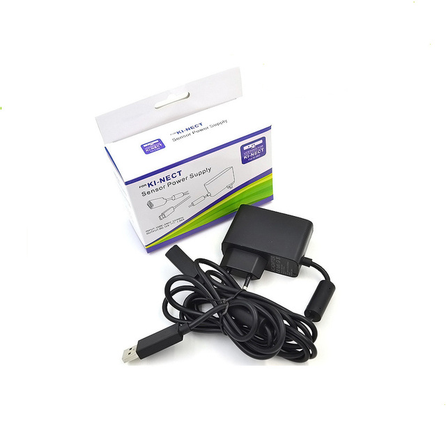 For KINECT Sensor Power Supply  Adapter US/EU Charger For Xbox 360 Kinect Sensor