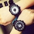 Новый SBAO Противоударный Водонепроницаемый Резиновый Открытый Спорт Кварцевые Наручные Часы для Мужчин Boy Мужской Высокое Качество Ядро Япония OP001