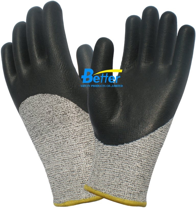 Anti Cut Safety Glove HPPE Cut Resistance Work Glove anti cut safety glove hppe cut resistant work glove
