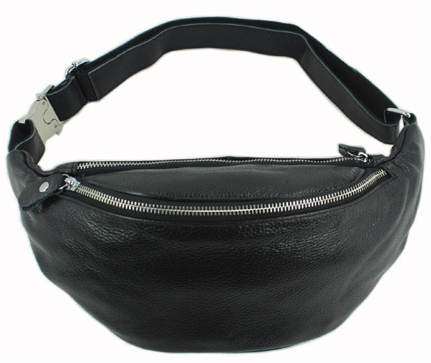 Aliexpress.com : Buy Fashion Genuine Leather waist bag for men ...