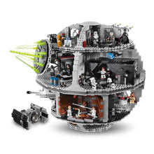 3804pcs NEW LEPIN 05035 Star Wars Death Star Building Block Bricks Toys Kits Minifigure Compatible with10188 Child Gift