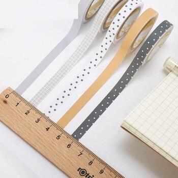 20個ポッティング花紙和紙テープセット7ミリメートルスリム装飾テープドット&チェック柄日記ステッカースクラップブッキング文房具A6446 1