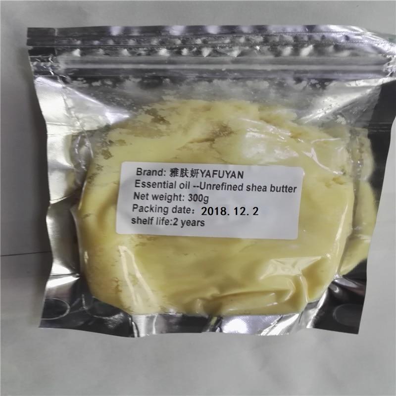 eterisk olja Kosmetisk 300g Rå Naturlig Organisk Orefinerad Shea Smörolja Frisk Grad Nourishing Moisturizing Wrinkle Skin Care