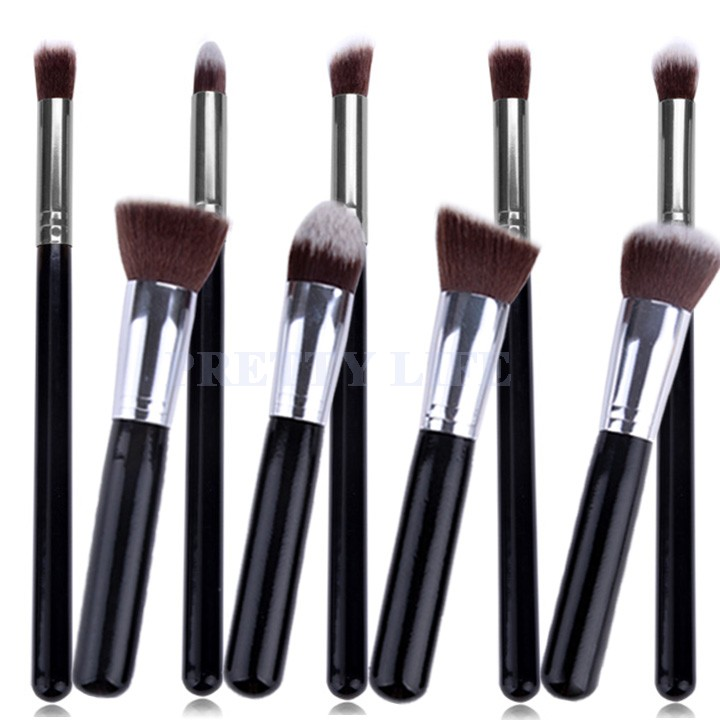 Online Shop Best Quality 9pcs Makeup Brushes Premium Synthetic Make