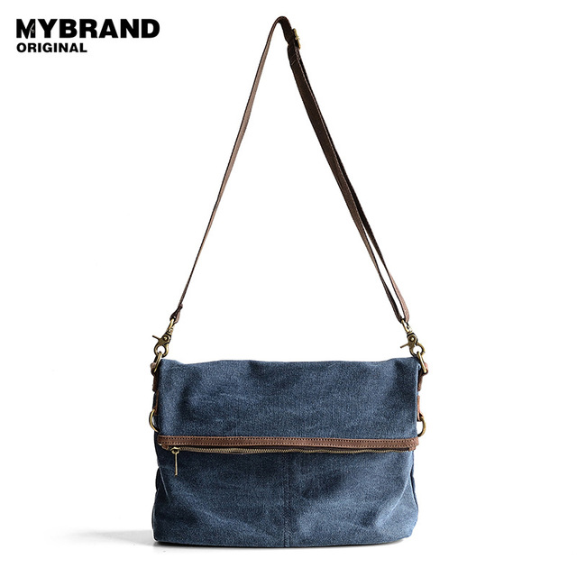 MYBRAND оригинал холщовый мешок мужской одиночный мешок плеча многофункциональный crossbody сумка для мужчин сумка мужчины сумка мода стиль B24