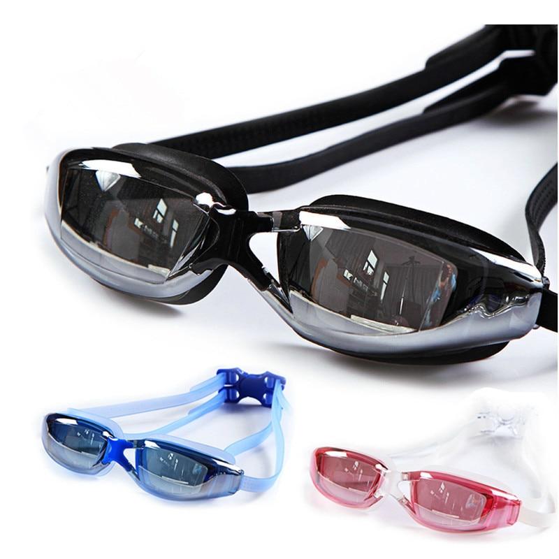 Claro Gafas De Natación Para Adultos Gafas de Natación con Espejo Lente Revestid