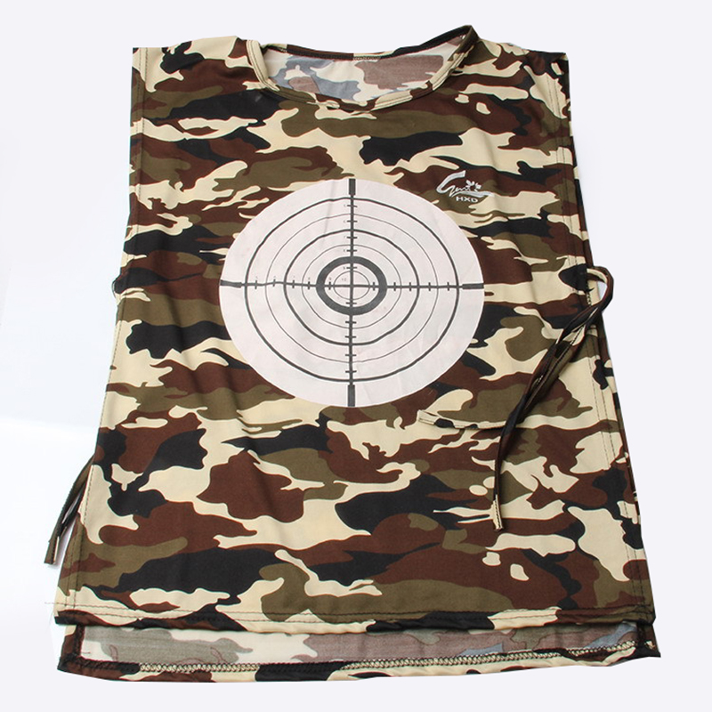 Toys & Hobbies Toy Sports 2019 Summer Hot 1pc Shootout Vest Water Bombs Shootout Clothes Special Crystal Paintball Target Vest Kids Outdoor Sports Toy