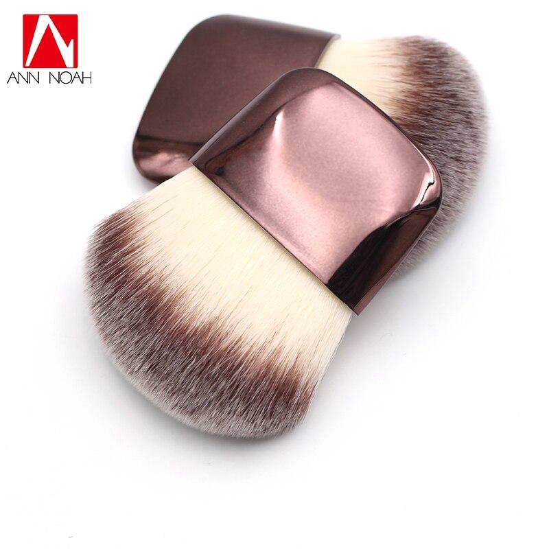 Luxury Ultra Soft Taklon Bristles Flat Wide Blush Powder Brush