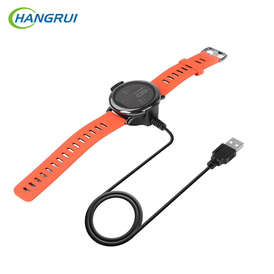 HANGRUI Portable Cradle Dock Charger For Xiaomi Huami AMAZFIT Pace Smart Watch Smart Bracelet USB Charging Cable Data Sync Cord