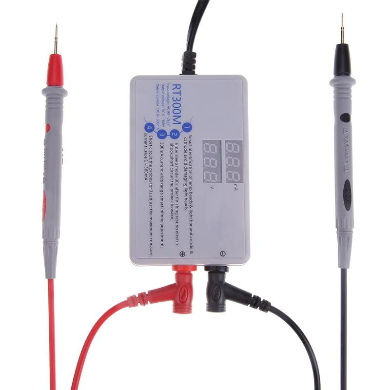 Rt300m Ultra Helle Hintergrundbeleuchtung Spannung Strom Tester für Laptop AC90-265V LED Lampe Bead Licht Bar Smart Messung
