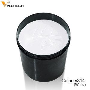 Image 4 - CANNI UV Builder Gel 1kg Bulk Package French Art Salon Crystal Transparent Nail Hard 12 Camouflage Jelly Color UV LED Gel Cover