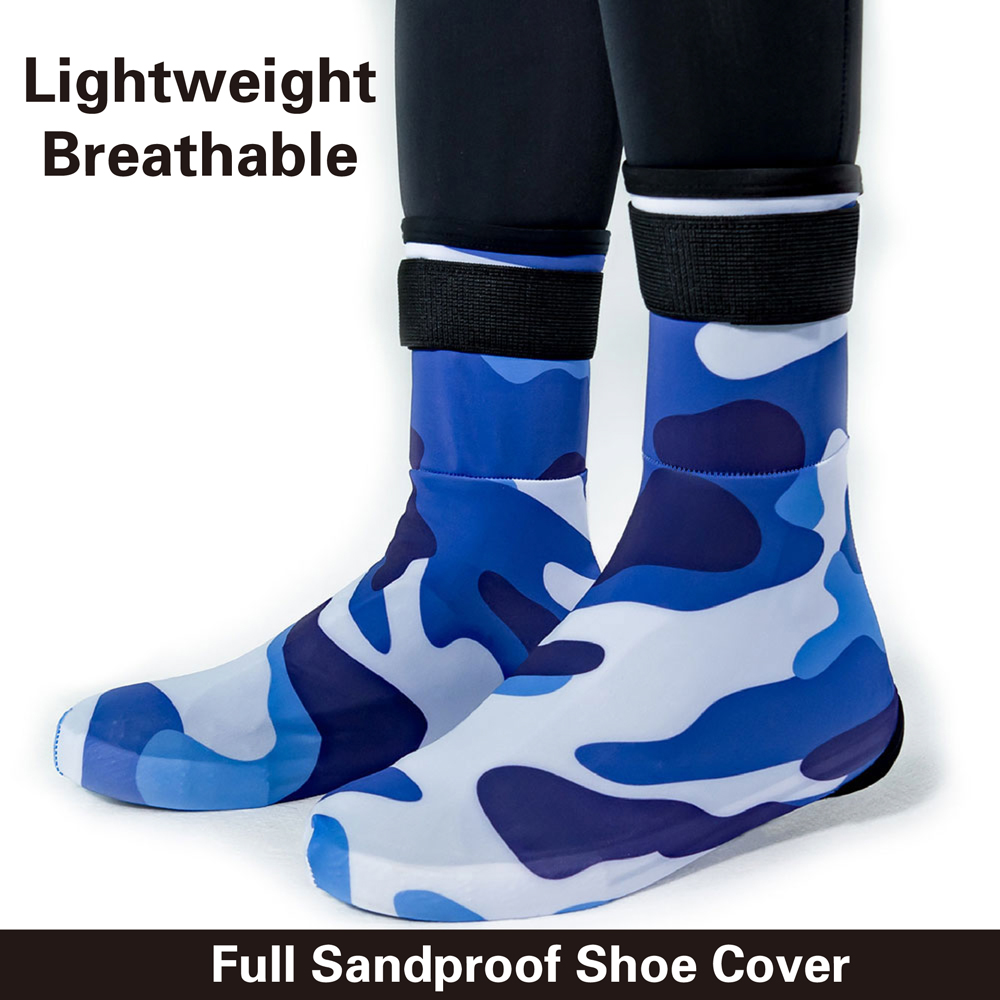 Sandproof Desert Shoe Covers and Custom Sand Shoe Cover and Cycling