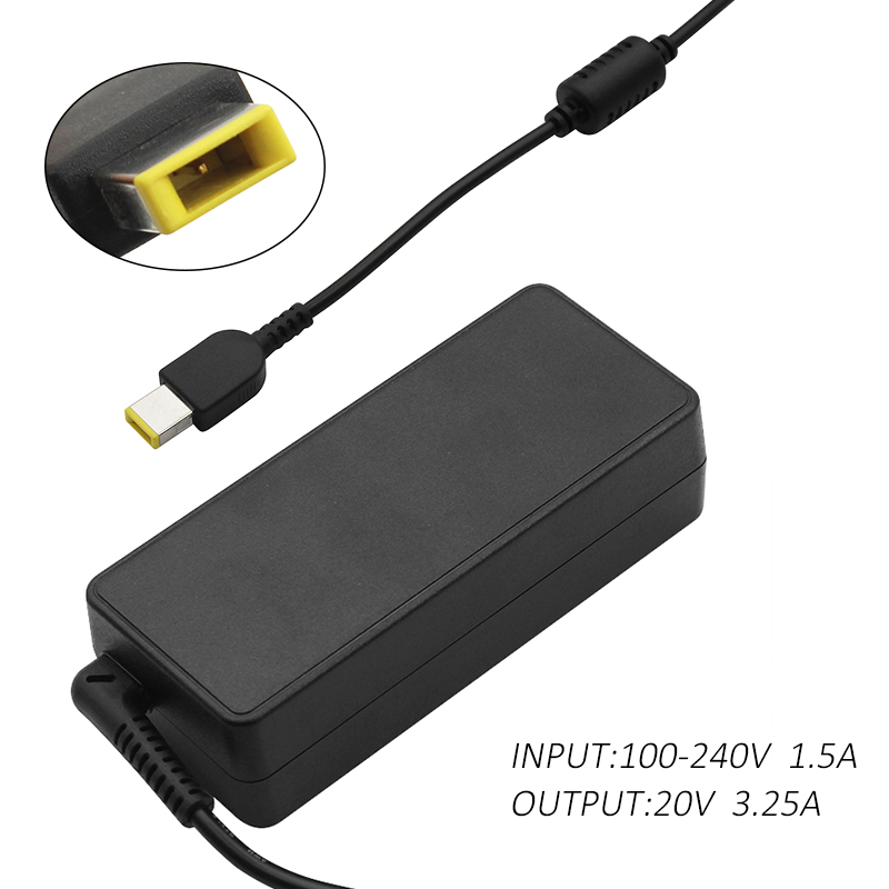 20V 3.25A 65W AC Laptop Power Adapter Charger For Lenovo G400 G500 G505 G405 ThinkPad X1 Carbon Yoga 13 Replacement parts