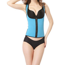Healthsweet trainer vest latex waist trainer body shaper for women weight loss plus size waist Braces & Supports