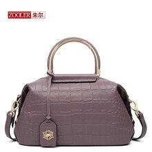 ZOOLER Новое прибытие из натуральной кожи сумки женщины сумки известная марка классические сумки на ремне розовый ПР/повелительницы кладет в мешки # BC-8152