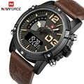 2017 Naviforce мужские модные спортивные часы мужские кварцевые аналоговые часы с датой мужские кожаные военные водонепроницаемые часы Relogio Masculino