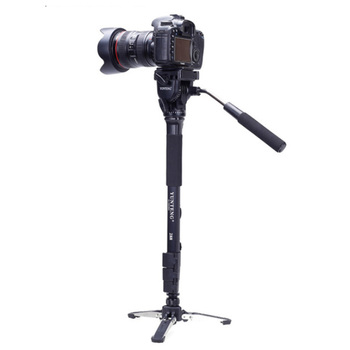 Yunteng 288 Camera Monopod + Fluid Pan Head + Unipod Holder For Canon Nikon Camera