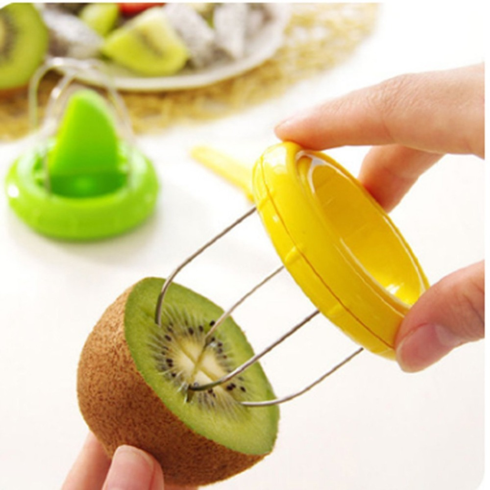 New Style Cooking Tools Kitchen Fruit Kiwi Cutter Device Cut Digging Core Twister Slicer Kitchen Peeler To Kitchen Accessories