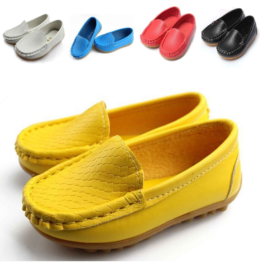 39f20f8ce90f 2015 Hot Sale New Children Shoes Kids Sneakers Flats With Boys And Girls  Soft Leather Running Shoes Size 21-30 Free Shipping