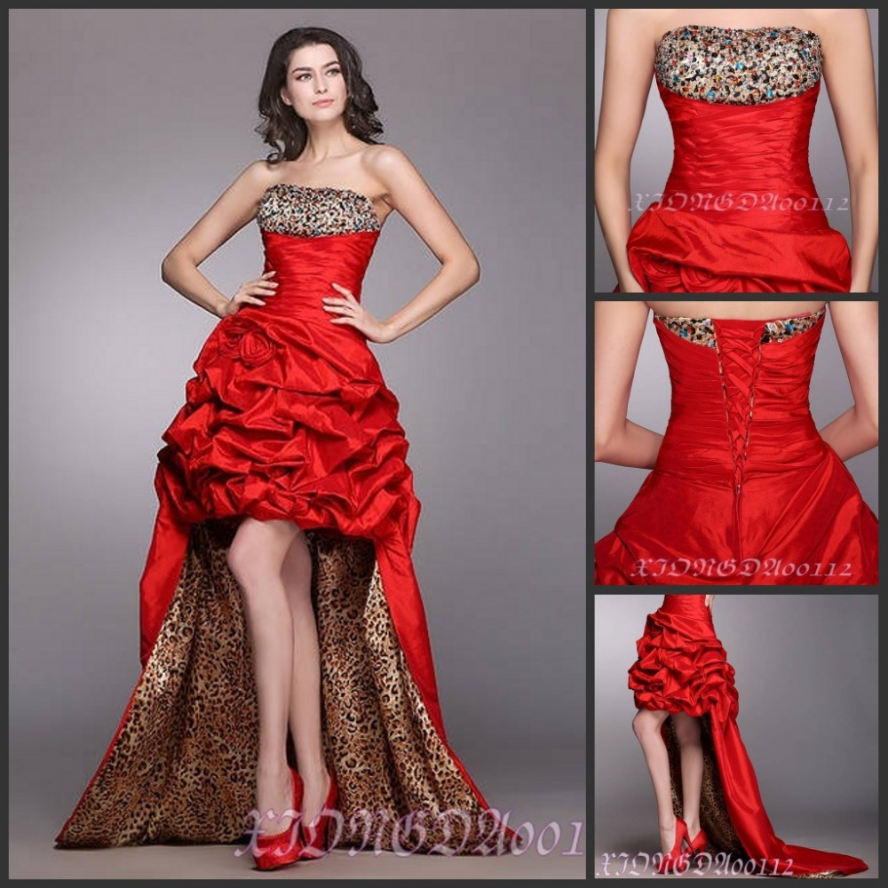 Wonderful Leopard Print Ball Gown Images Images For Wedding Gown