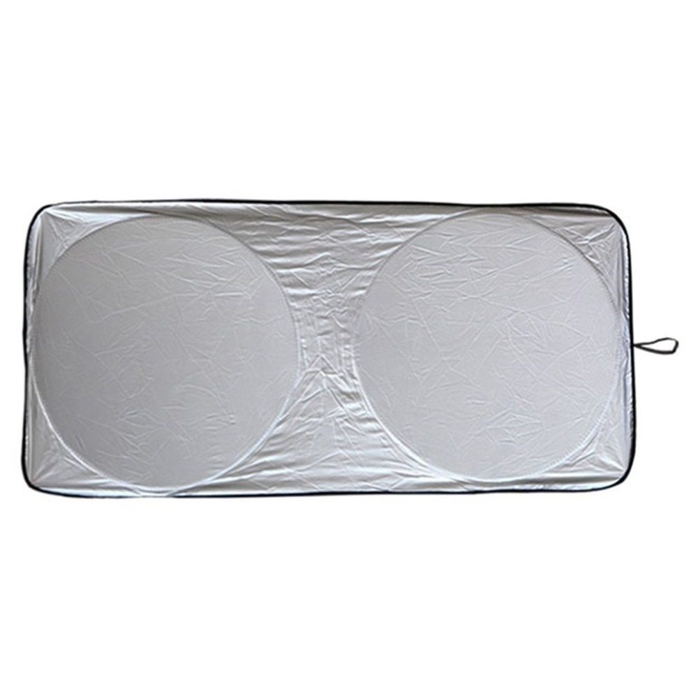 NewAluminum Foil silver Front Windshield Car Window Foldable Sun Shade Shield Cover Visor UV Block