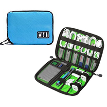 Portable Travel Storage Bags USB Data Cable Earphone Wire Electronic Organizer Pouch Digital Gadget Devices Kit Organizador Case