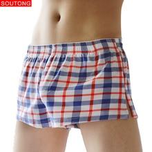 Soutong Mannen Boxer Shorts Ondergoed 3 stks/partij Mannelijke Slipje Katoen Boxer Cuecas Masculina Boxershorts Mannen ropa interieur hombre