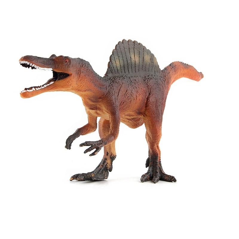 ZXZ Jurassic Velociraptor Dinosaur spinosaurus Toys Figures Animal Model Collection Learning Educational Kids toy boy gifts