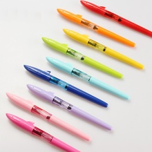 12 Color shark fountain pens high quality 0.5mm Iraurita Student writing pen Stationery Office School supplies FB739