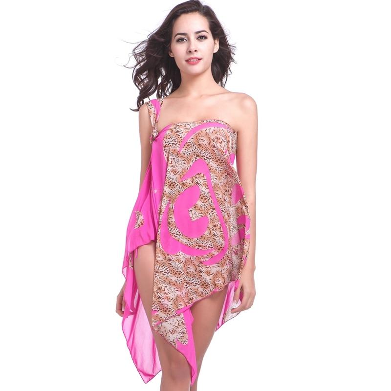 10 in 1 Multi - Wear Transparent Stretch Mesh 2018 փոխարկելի - Կանացի հագուստ - Լուսանկար 2