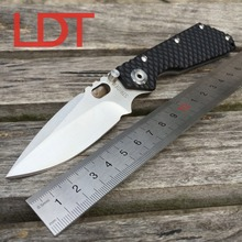 LDT STRIDER Folding Blade Knife Honeycomb G10 Handle 7Cr17Mov Blade Tactical Tools Outdoor Camping Survival Pocket Knives OEM
