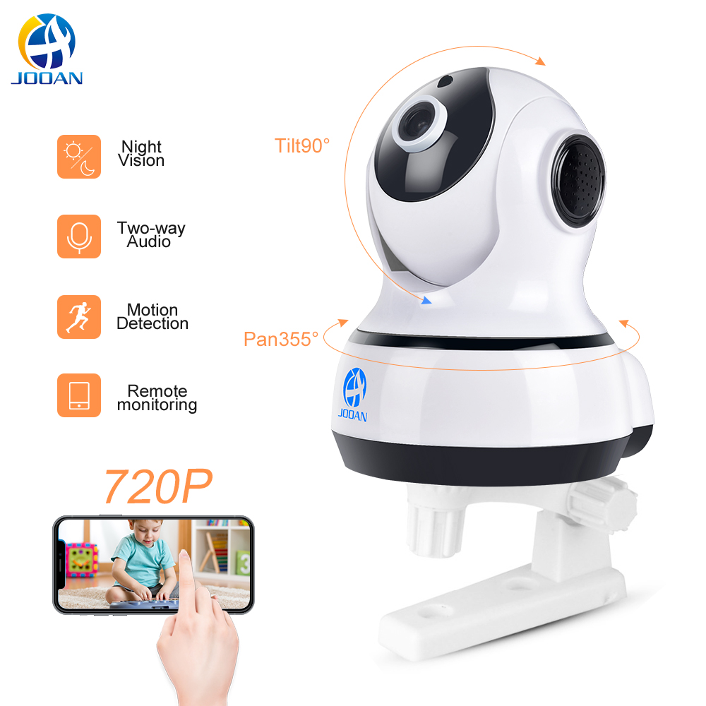 JOOAN C5M-D Wireless IP Security Camera 720P wifi Network Video Surveillance Night Vision CCTV Home Camera Baby Monitor 720p ip camera yoosee wireless onvif home security network ptz ip camera surveillance wifi night vision cctv camera baby monitor