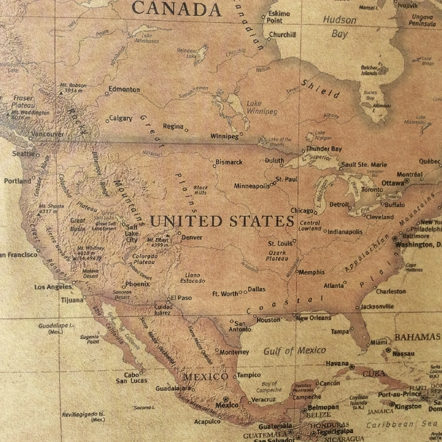 Choose size the old world map huge large vintage style retro paper previous publicscrutiny Gallery