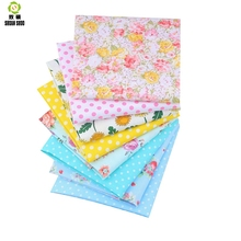 Shuanshuo New Floral Fabric Patchwork Tissue Cloth Of Handmade DIY Quilting Sewing Baby&Children Sheets Dress 40*50cm 8pcs/lot