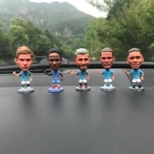 Car Decoration Football World Cup Souvenir Blaunet Sculpture Doll Spanish Club