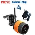 720 P Mini câmera ip Sem Fio Wi-fi Ao Ar Livre bala IR à prova d' água visão noturna Cartão TF 12 V CCTV de Vigilância de Segurança Câmera wi-fi