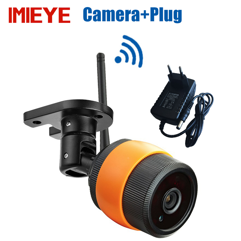 IMIEYE 960P Outdoor Mini IP Camera Wireless Wifi Bullet Waterproof IR Night Vision 64G TF Card CCTV Surveillance Wi-fi Camera smar outdoor bullet ip camera sony imx323 sensor surveillance camera 30 ir led infrared night vision cctv camera waterproof