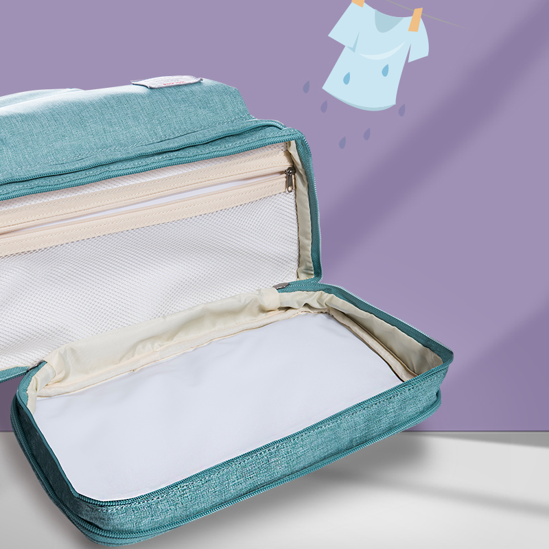 SUNVENO Sac À Langer Sac À Dos De Maternité Bébé Sac Maman Sac À Dos Élégant Poussette Bébé Sacs à Couches Pour Maman - 4