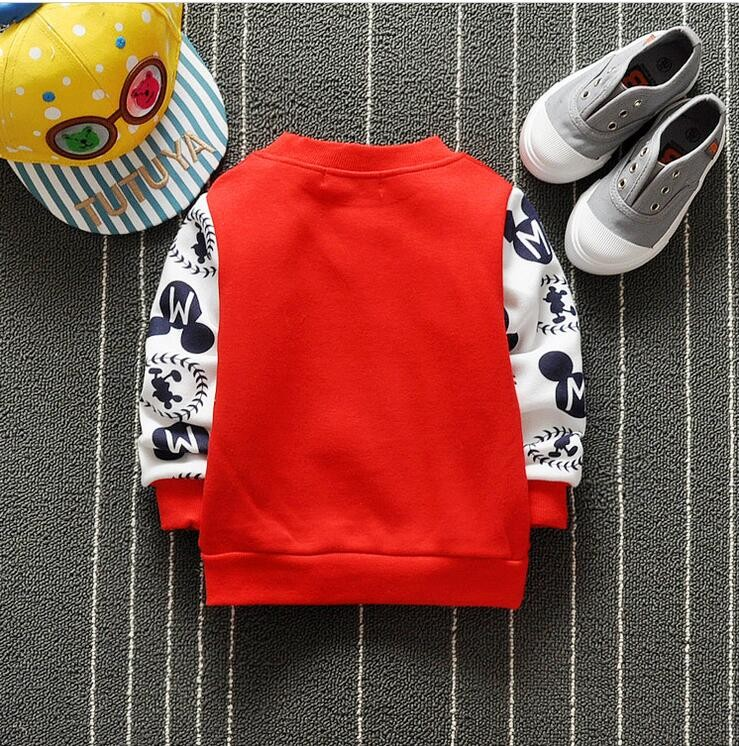 The new cartoon pattern fashion 0-2 year-old male and female baby long-sleeved clothes + free gifts 13