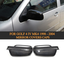 100% Real carbon fiber Carbon Fiber Mirror Cover for Golf VI mirror cover