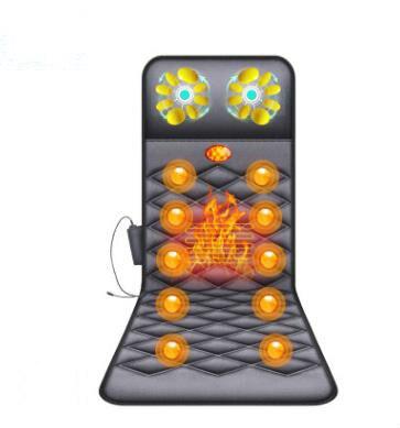 General electric multi functional household massager massage mattress heating vibration massage care