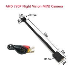NEW HD AHD 720P/1MP Night vision MINI Camera Home Indoor Security Surveillance Video Camera For AHD DVR Free Shipping