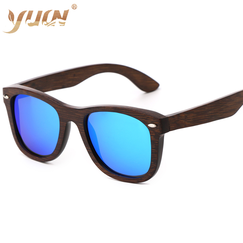 cf9b09e910dfb Aliexpress.com   Buy High fashion brown bamboo frame sunglasses women men  polarized gafas de sol B5640 from Reliable Sunglasses suppliers on YUW  Official ...