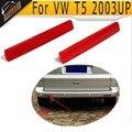 1 Par Luzes Lâmpadas T5 ABS Traseiro Refletor Vermelho cobre para VW T5 2003UP