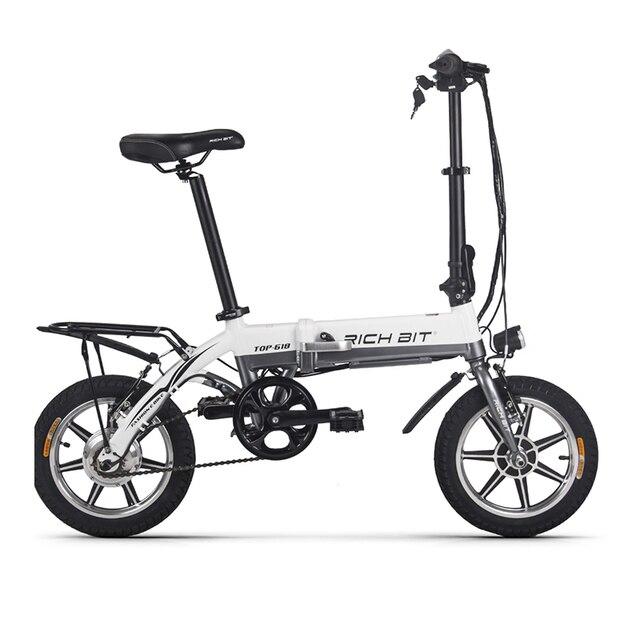 RichBit RT-618 дюймов 14 дюймов складной электрический велосипед 36 В в 250 Вт 10.2Ah литиевая батарея электрический велосипед складной Электрический горный велосипед
