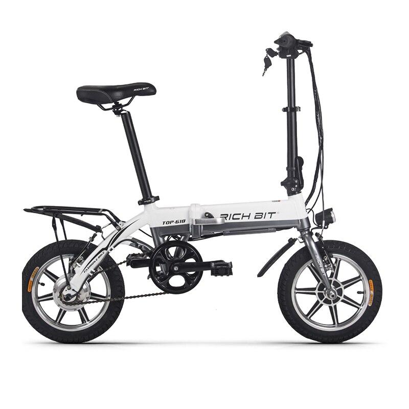 RichBit RT-618 14 Inch Folding Electric Bike 36V 250W 10.2Ah Lithium Battery Electric Bicycle Folding Electric Mountain Bike вспышка для фотокамеры 2xyongnuo yn600ex rt yn e3 rt speedlite canon rt st e3 rt 600ex rt 2xyn600ex rt yn e3 rt